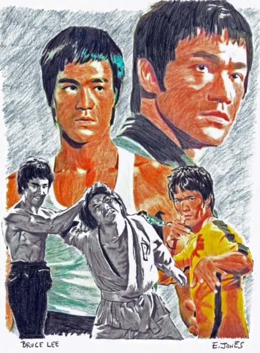 Bruce Lee by jonese